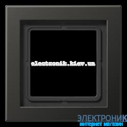 Рамка 1-ая LS990 Design антрацит металл