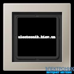 Рамка 1-ая LS990 Design нержавеющая сталь металл