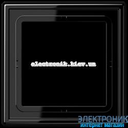 Рамка одноместная JUNG LS990 черный