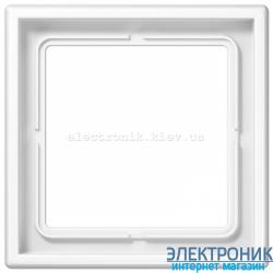 Рамка одноместная JUNG LS990 белый