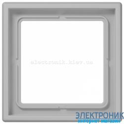 Рамка одноместная JUNG LS990 светло-серый
