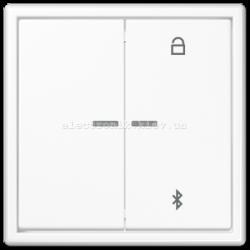 Клавишный диммер с управлением по Bluetooth LED 100/200Вт JUNG LS990 белый