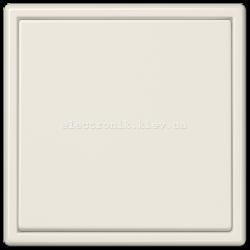 """Клавишный диммер """"стандарт"""" ЛН, ВВ галог. 20-210Вт / люминисц., LV-LED 3-60Вт JUNG LS990 крем"""