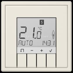 Терморегулятор теплого пола электронный JUNG LS990 крем