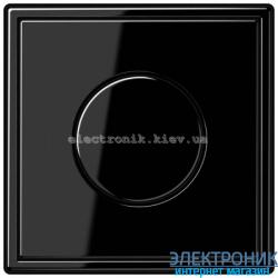 Светорегулятор универс.20-420, Вт JUNG LS990 черный