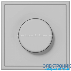 Светорегулятор универс.20-420, Вт JUNG LS990 светло-серый