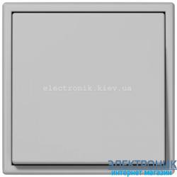 Выключатель одноклавишный JUNG LS990 светло-серый