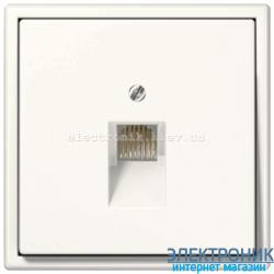 Розетка компьютерная RG 45 JUNG LS990 крем