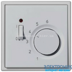 Терморегулятор JUNG LS990 светло-серый