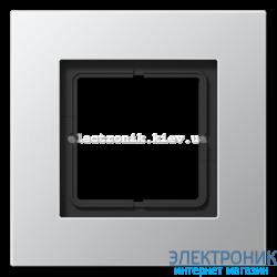 Рамка 1-ая LS PLUS алюминий металл