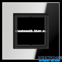 Рамка 1-ая LS PLUS хром металл