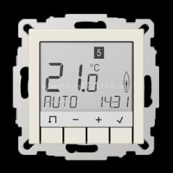 Термостат теплого пола электронный JUNG Eco Profi Слоновая кость