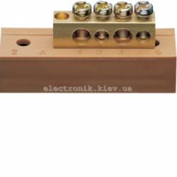 Клемма фазная с держателем 2x16+2x10мм2 Hager