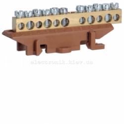 Клемма фазная с держателем 5x16+6x10мм2 Hager