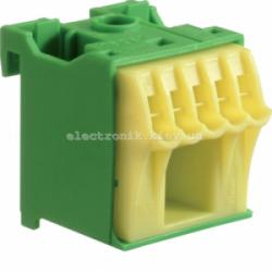 Блок дополнительных PE-клемм 1x16 mm2 + 5x4 mm2 Hager