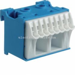 Блок N-клемм, количество единиц деления - 1,5 ширина — 45мм Hager