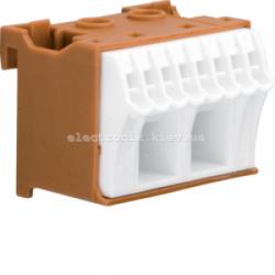 Блок фазных клемм, количество единиц деления - 1,5 ширина — 45мм Hager