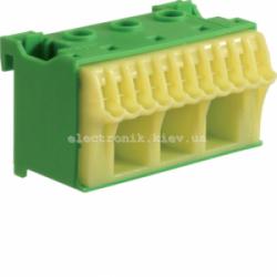 Блок PE-клемм, количество единиц деления - 2 ширина — 60мм Hager