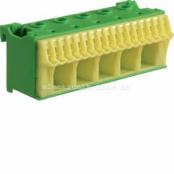 Блок PE-клемм, количество единиц деления - 3 ширина — 90мм Hager