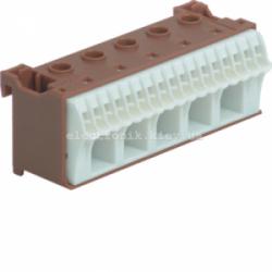 Блок фазных клемм, количество единиц деления - 3 ширина — 90мм Hager