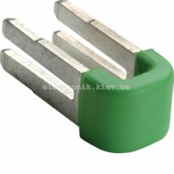Вставная перемычка для соединения блоков PE-клемм, комплект - 10шт. Hager