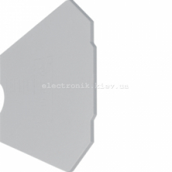 Оконечная пластина для KXA04VB, KXA04LX Hager