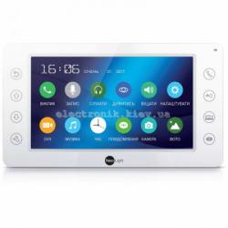 Цветной видеодомофон NeoLight Kappa HD с 7 дюймовым экраном Белый