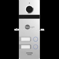 Цветная вызывная панель NeoLight MEGA/2 Silver