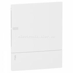 Щит Schneider-Electric Mini Pragma 2 ряда/24 модуля встраив. бел. дверь IP40