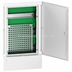 Щит Mini Pragma мультимедийный, 3 ряда на 12 модулей, встраиваемый
