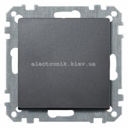 Выключатель 1-кл проходной Schneider Electric Merten System M антрацит