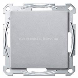 Выключатель 1-кл перекрестный Schneider Electric Merten System M алюминий