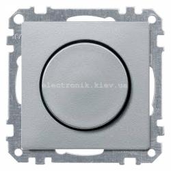 Светорегулятор универс.20-420, Вт Schneider Electric Merten System M алюминий