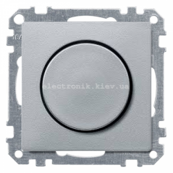 Светорегулятор универс.20-600, Вт Schneider Electric Merten System M алюминий