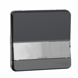 Механизм кнопочного выключателя с полем для маркировки IP55, черный, Mureva Styl Schneider Electric MUR34029