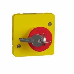 Механизм аварийного выключателя с ключом для активации Mureva Styl Schneider Electric MUR35052