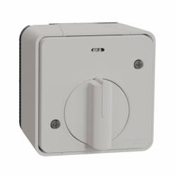 Выключатель с таймером IP55, для поверхностного монтажа, белый, Mureva Styl Schneider Electric MUR39067