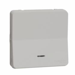 Механизм кнопочного выключателя с подсветкой IP55, белый, Mureva Styl Schneider Electric MUR39127