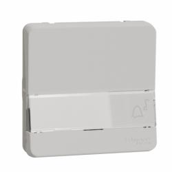 Механизм кнопочного выключателя с полем для маркировки IP55, белый, Mureva Styl Schneider Electric MUR39129