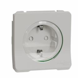 Механизм розетки с заземлением и шторками IP55, белый Mureva Styl Schneider Electric MUR39134
