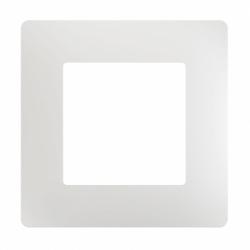 Рамка одномісна PLANK белая