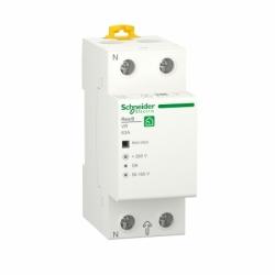 Реле напряжения RESI9 Schneider Electric 63A, 1P+N, 230 В, 50 Гц