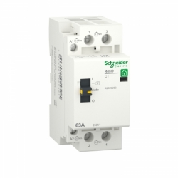 Контактор RESI9 Schneider Electric 63 A, 1P+N, 2NO ~230В/50Гц