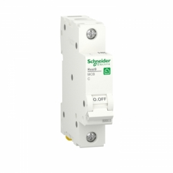 Автоматический выключатель RESI9 Schneider Electric 25 А, 1P, категория С, 6кА