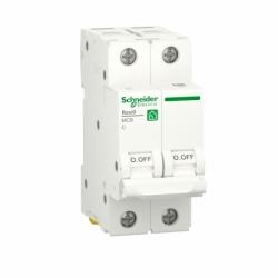 Автоматический выключатель RESI9 Schneider Electric 16 А, 2P, категория С, 6кА