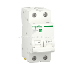 Автоматический выключатель RESI9 Schneider Electric 50 А, 2P, категория В, 6кА