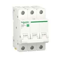 Автоматический выключатель RESI9 Schneider Electric 10 А, 3P, категория С, 6кА