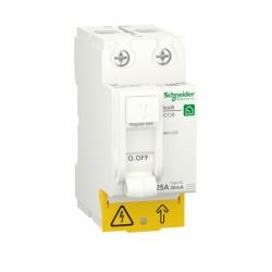 Устройство защитного отключения (УЗО)  RESI9 Schneider Electric 25 A, 30 мA, 2P, тип АС