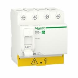 Устройство защитного отключения (УЗО)  RESI9 Schneider Electric 63 A, 100 мA, 4P, тип АС