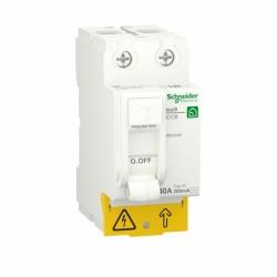 Устройство защитного отключения (УЗО)  RESI9 Schneider Electric 40 A, 300 мA, 2P, тип АС